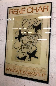 Georges Braque en verre feuilleté