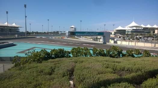 Circuito di F1 di Yas Marina