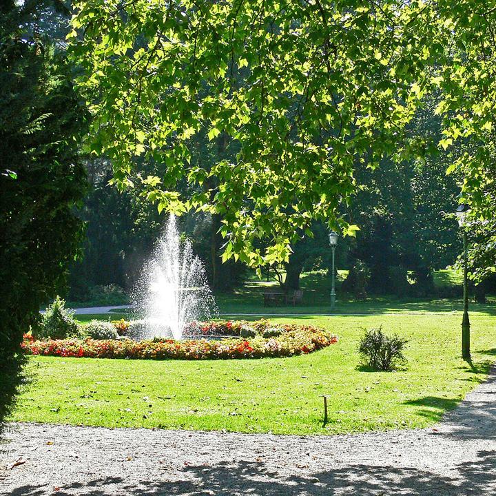 Kurgarten in Bad Reichenhall