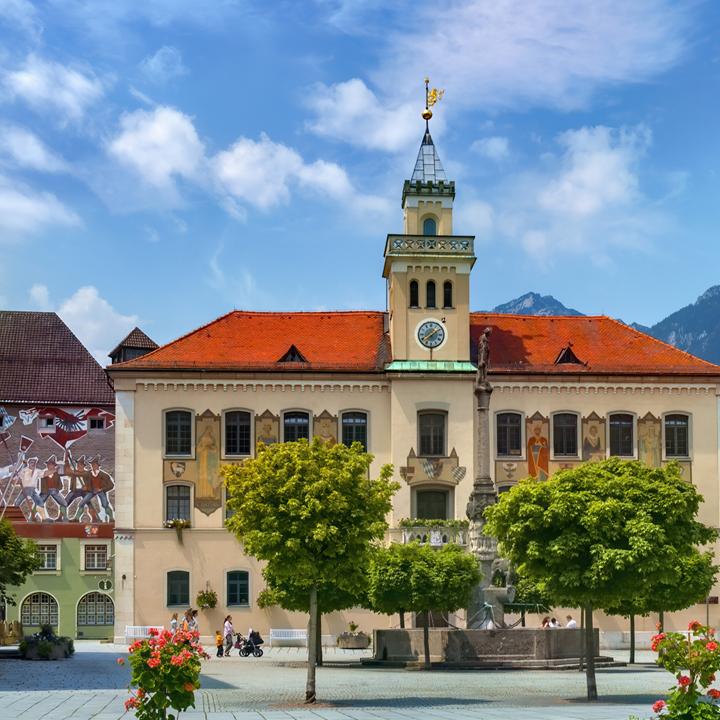 Rathaus in Bad Reichenhall