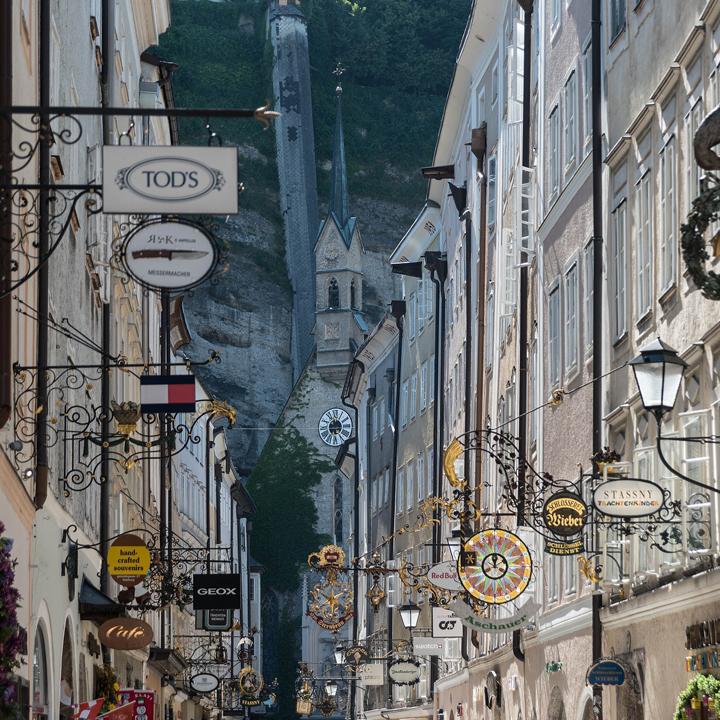 Salzburg Getreidegasse