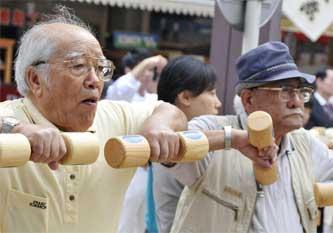 Пенсионеры долгожители