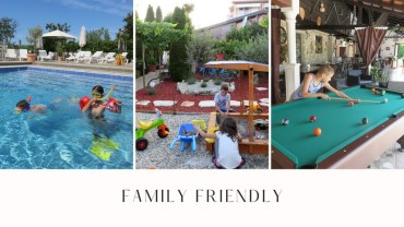Pension Biba Porec Family friendly
