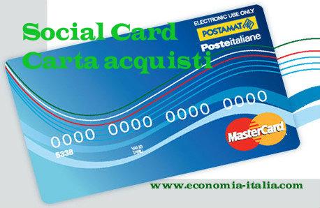 Social Card Per Disoccupati Requisiti Per Il Sostegno Al
