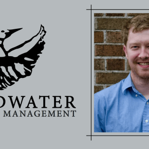 Erik Hane and the Headwater Literary Management logo