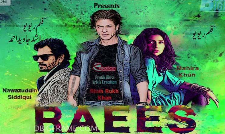 """ہندی فلم رئیس : Review Indian Movie """"Raees"""""""