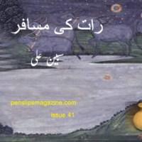 رات کی مسافر ۔۔۔ سبین علی
