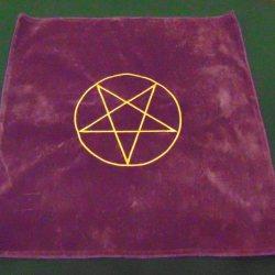 фиолет-пентаграмма