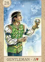 Fairy Tale Lenormand | Сказочная Ленорман (в жестяной коробочке)