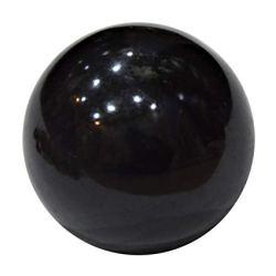 Шар черный агат, 7 см