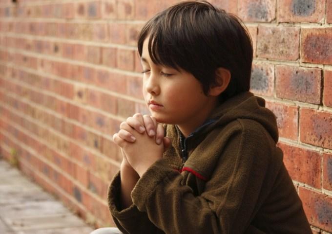 Asian Penecostalism - Boy Praying