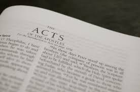 Exegetical Analysis of Acts