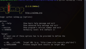 SQLMap v1 2 11 - Automatic SQL Injection And Database
