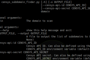 Censys Subdomain Finder - Perform Subdomain Enumeration Using The Certificate Transparency Logs From Censys