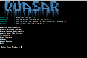 Quasar - An Information Gathering Framework For Lazy Penetration Testers