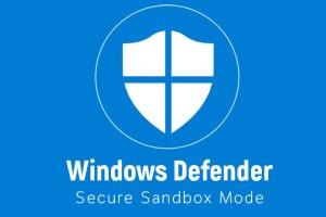 windows defender antivirus sandbox