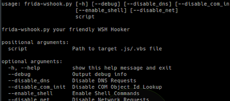 Frida-Wshook - Script Analysis Tool Based On Frida re – PentestTools