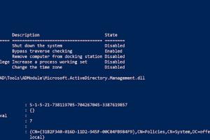 ADModule - Microsoft Signed ActiveDirectory PowerShell Module