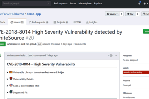 github vulnerability management