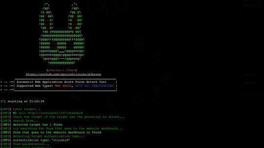 W3Brute - Automatic Web Application Brute Force Attack Tool