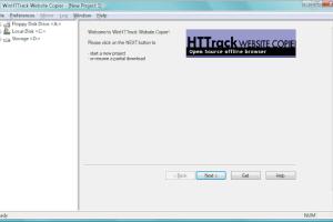 HTTrack Website Copier -  Web Crawler And Offline Browser