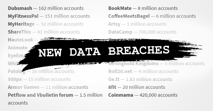 Hacker Breaches Dozens of Sites, Puts 127 Million New Records Up for