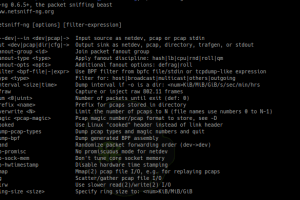Netsniff-Ng - A Swiss Army Knife For Your Daily Linux Network Plumbing