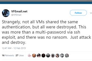 vfemail data backup hack