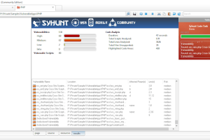 Syhunt Community 6.7 - Web And Mobile Application Scanner