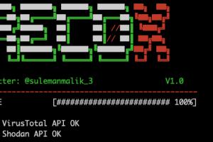 Recox - Master Script For Web Reconnaissance