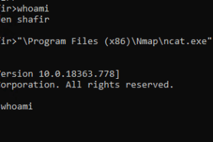 Faxhell - A Bind Shell Using The Fax Service And A DLL Hijack