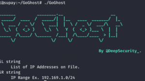 GoGhost - High Performance, Lightweight, Portable Open Source Tool For Mass SMBGhost Scan