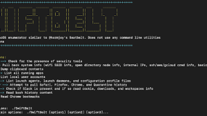 SwiftBelt - A macOS Enumeration Tool Inspired By Harmjoy'S Windows-based Seatbelt Enumeration Tool