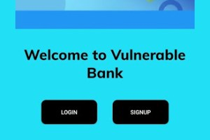 Damn-Vulnerable-Bank - Vulnerable Banking Application For Android