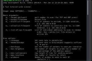 Zmap - A Fast Single Packet Network Scanner Designed For Internet-wide Network Surveys