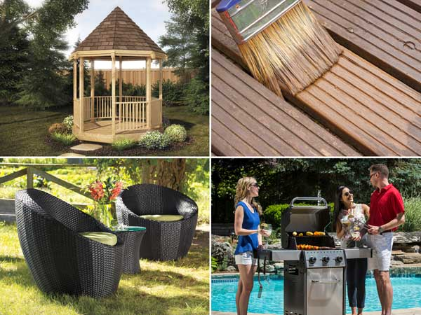 Update your outdoor living space at Penticton Home Hardware with new outdoor patio furniture.