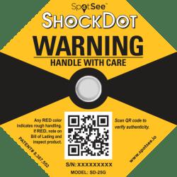 Shockdot-label