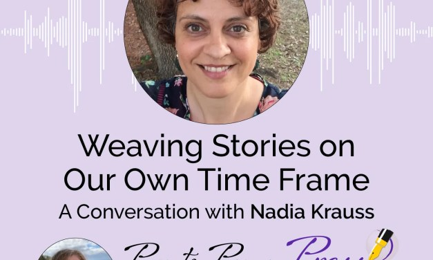 Weaving Stories on Our Own Time Frame