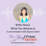 Write About What You Believe In