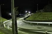 上総亀山 streets at night 3