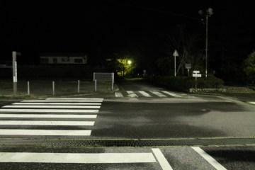 上総亀山 streets at night 4