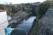 上総亀山 view from the dam