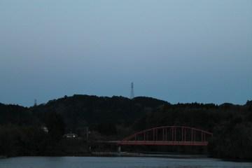 上総亀山 the other side of the lake