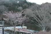 上総亀山亀山湖 dock