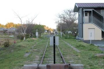 上総亀山 End of the rails