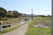 A river on my way to Chuubei (忠兵衛).