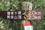 Distances to the top
