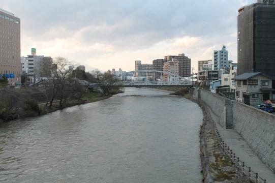 盛岡 River