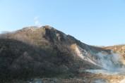 日和山, Mt. Hiyoriyama, the active volcano powering this shenanigans