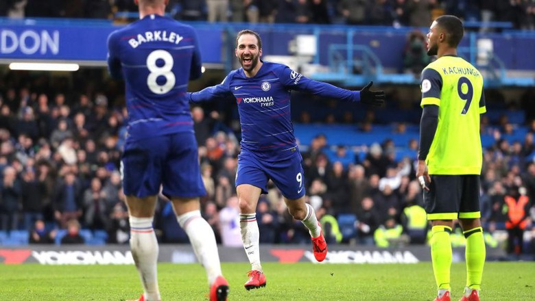 Hasil Pertandingan Chelsea Vs Huddersfield Town Skor 5-0
